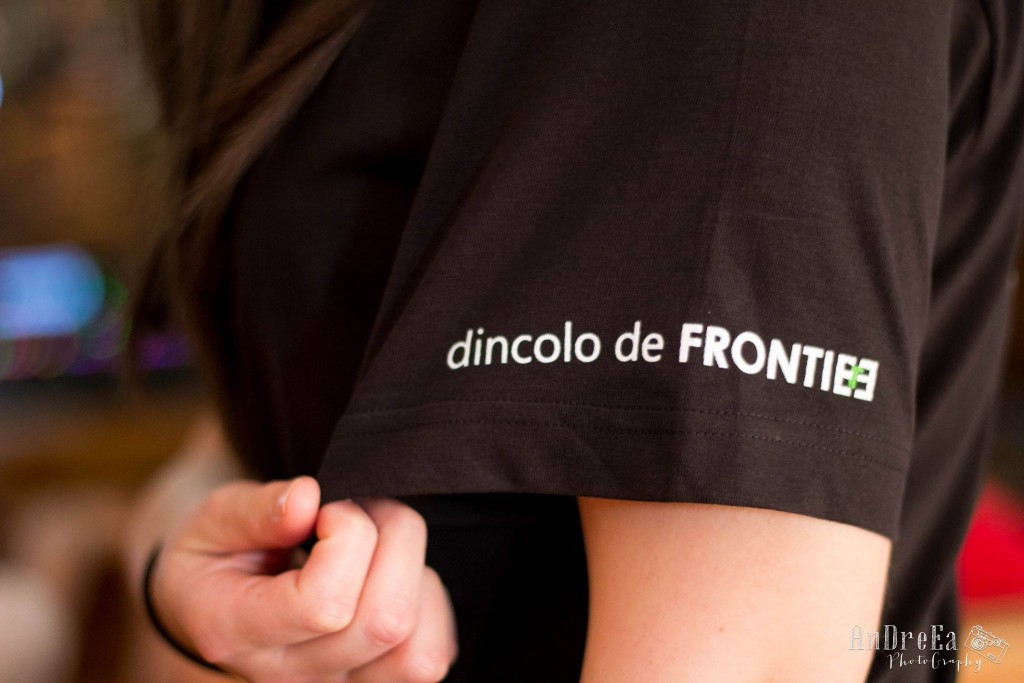frontiers t-shirt