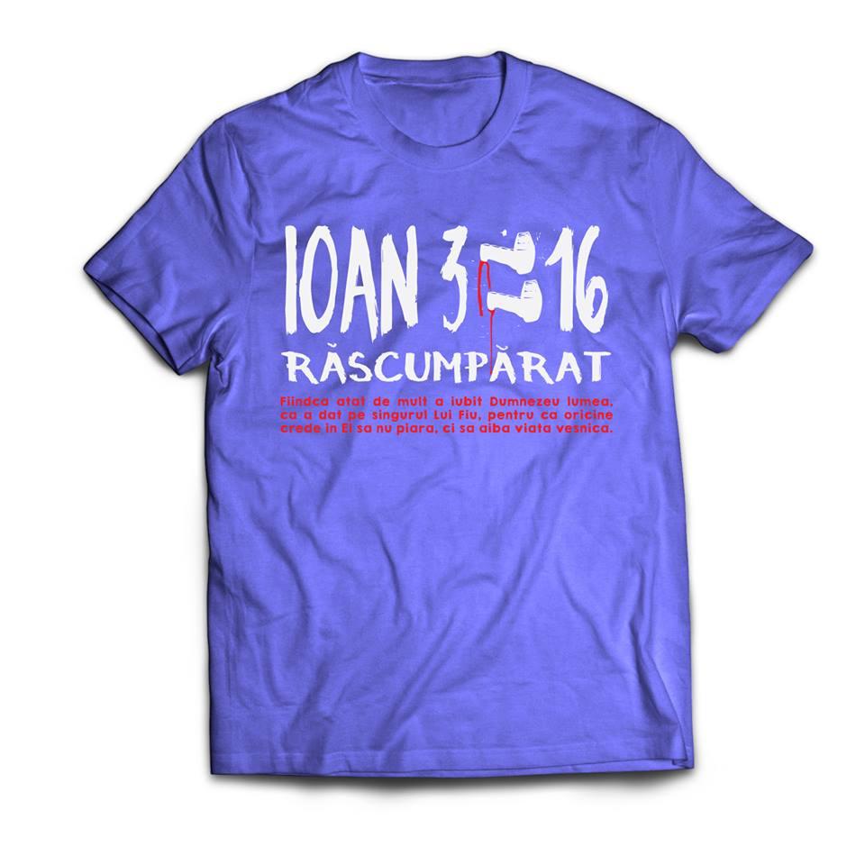 tricou Ioan 316